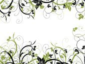 Floral Pattern,Ornate,Flower,Vector Florals,Leaf,Illustrations And Vector Art,Backgrounds,Vector,Abstract,Nature