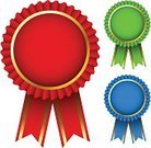 Award Ribbon,Award,Medal,Badge,warranty,Gold Colored,Red,Symbol,Success,Label,Blank,Vector,Insignia,Green Color,Computer Graphic,Blue,Sign,Satin,Ornate,Ilustration,Colors,Part Of,Sports And Fitness,White Background,Concepts And Ideas,Isolated,Success,Design Element,Illustrations And Vector Art,Decoration,Competition,Yellow,Design