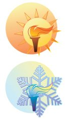 Ancient Olympic Games,Sport,Flame,Winter,Sign,Fire - Natural Phenomenon,Ice,Athlete,olympiad,Sun,Summer,Ilustration,Vector,Cold - Termperature,Heat - Temperature,Vitality,Spirituality,Burning,Snow,Good Sportsmanship,Illustrations And Vector Art,Concepts And Ideas,Sports And Fitness,Time,Ollympic Sign,Season,Ice Crystal,Competition,gameness,summer games,winter games