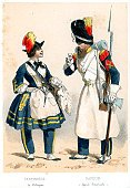 Armed Forces,Combat Engineer,History,Honor Guard,19th Century Style,Lithograph,Military,Period Costume,Napoleonic Wars,Clothing,Color Image,France,Painted Image,Print,Rifle,Bayonet,Weapon,Engraved Image,Ilustration,Image Created 19th Century,Army Soldier,Image,Central Europe,Colors,Europe,People,Empire,Historical Clothing,Old-fashioned,Illustrations And Vector Art,Historical War Event,French Culture,Art,Military Invasion,European Culture,Military Uniform,Gun,Traditional Clothing,Antique,Styles,Headwear,French Military,Hat,Lifestyle,Army,Occupation,The Past,French Empire,Bearskin Hat,Uniform,Image Created 1850-1859,cantiniere,Cultures
