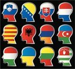 Azerbaijan,Ukraine,Albania,Lithuania,Armenia,Human Face,Symbol,Eastern Europe,Catalonia,Europe,Hungary,People,Hungarian Flag,Bosnia Herzegovinan Flag,Slovenia,Men,Lithuanian Flag,Slovenian Flag,Abkhazia,Azerbaijan Flag,Communication,Illustrations And Vector Art,Ukrainian Flag,Slovakia Flag,Abkhazian Flag,Armenia Flag,Albania Flag,Concepts And Ideas,People,Vector Icons,Netherlands,Bosnia and Hercegovina,Ethnicity,Human Head,Slovakia,Dutch Flag