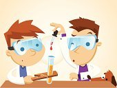 Science,Child,Scientist,Cartoon,Scientific Experiment,Chemistry,Student,Beaker,Chemist,Nerd,Research,Expertise,Young Adult,Clip Art,Ilustration,Discovery,Playing,Dog,Danger,Characters,Working,Uniform,Liquid,Smiling,Coat,Eyeglasses,Professional Occupation,Glass - Material,Playful,Lab Coat,Drop,Science Symbols/Metaphors,Happiness,Babies And Children,Lifestyle,Cheerful,Research,Medicine And Science