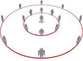 Circle,Inside Of,People,Three-dimensional Shape,Business,Communication,Organization,Role Model,Leadership,Group Of People,Vector,Market,Symbol,Control,Surrounding,Manager,Team,Men,Guru,Order,Friendship,Individuality,General,Occupation,White,Organized Group,Concepts,Teamwork,Sparse,Ideas,Loneliness,Partnership,Success,Standing Out From The Crowd,Isolated,Ilustration,Foreman,Officer,Businessman,White Background,Isolated On White,Chief