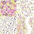 Pattern,Circle,Spotted,Backgrounds,Seamless,Geometric Shape,Retro Revival,Abstract,Design,In A Row,Purple,Pink Color,Vector,Funky,Maze,Textile,1960s Style,1970s Style,Green Color,Curve,Ornate,White,Elegance,Vibrant Color,Decoration,Wallpaper Pattern,Chaos,Ilustration,S-shape,White Background,Set,Yellow,Clip Art,Series,Vector Backgrounds,Vector Ornaments,Arts Abstract,Two-dimensional Shape,Illustrations And Vector Art,Arts And Entertainment