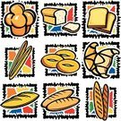 Bread,Brioche,Loaf of Bread,Food,France,Muffin,Croissant,Symbol,French Culture,Vector,Dinner,Clip Art,Cake,Snack,Corn Bread,Store,Unhealthy Eating,Healthy Eating,Ilustration,Lunch,Gourmet,Freshness,Refreshment,Wealth,French Currency,Merchandise,Fat,Isolated,yummy,Illustrations And Vector Art,Baking,Crockery,Food And Drink,Energy,Tasting,Hungry,Arranging,Igniting,Sesame