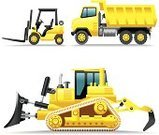 Forklift,Dump Truck,Tractor,Earth Mover,Symbol,Snowplow,Bulldozer,dozer,Construction Vehicle,Yellow,Computer Icon,Front End Loader,Vehicle Scoop,Vector,Pick-up Truck,Land Vehicle,Machinery,Icon Set,Side View,Road Scraper,Construction Machinery,Set,Steamroller,Road Construction,Traffic,Agricultural Machinery,Equipment,Isolated On White,Illustrations And Vector Art,Series,Excavation Vehicle,Construction,Industry,Heavy Industry