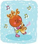 Music,Child,Cartoon,Playing,Saxophone,Little Boys,Musical Instrument,Playful,Musician,Musical Note,Cute,Child's Drawing,Jazz,Childishness,Fun,Popular Music Concert,Doodle,Classical Concert,Pop,Smiling,One Person,Babies And Children,Vector,Joy,Drawing - Art Product,Image,Cheerful,Sketch,Rock and Roll,Illustrations And Vector Art,Happiness,Mischief,Music,Lifestyle,Color Image,Ilustration,Vector Cartoons,Pop Musician,Arts And Entertainment