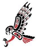 Tattoo,Indigenous Culture,Hawk - Bird,Haida,Indian Culture,Feather,Canadian Culture,American Culture,Feather,Vector,Sioux Indians,Talon,Computer Graphic,Ilustration,Land Vehicle,Plastic,Illustrations And Vector Art