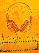 Sound,Headphones,Audio Equipment,Doodle,Music,Musical Note,Backgrounds,Halftone Pattern,Cable,Grunge,Key Signature,Ilustration,Scribble,Stained,Sketch,Vector,Design,Illustrations And Vector Art,Music,Vector Backgrounds,Drawing - Art Product,Arts And Entertainment,Vertical,Blob,Banner,Splattered,Treble Clef,Technology,Drop