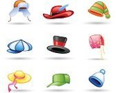 Hat,Knit Hat,Cap,Women,Symbol,Bonnet,Clothing,Computer Icon,Vector,Wool,Fashion,Feather,Top Hat,Elegance,Men,No People,Ear Flaps,Fur,Personal Accessory,Set,Blue,Magician,Full,Pattern,Flower,Striped,Group of Objects,Black Color,Baseball - Sport,Isolated,Backgrounds,Red,Pink Color,Side View,Heat - Temperature,Green Color,Modern,Headdress,Headwear,White,Looking At View,Shade,Vibrant Color,Ribbon,Newborn,Isolated On White