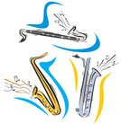 Saxophone,Jazz,Music,Brass Instrument,Equipment,Ilustration,Brass,Computer Graphic,Performer,Wind,Vector,Adolescence,Colors,March,Treble,melodic,Single Object,Teenager,Art,Practicing,Facial Expression,Arts And Entertainment,Blue,melodist,Clip Art,Illustrations And Vector Art,Music,Part Of,Performance,Singing,Playing,Caucasian Ethnicity,Writing