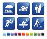 Swimming,Computer Icon,Leisure Activity,Recreational Pursuit,Icon Set,Kayak,Surfboard,Beach,Sunbathing,Hobbies,Men,Running,Surfing,Label,Stick Figure,Water,Vector,Ilustration,Summer,Vacations,Emergency Services,Red,Lifer Guard,Wave Pattern,Metal Detection,Wave,Black Color,Blue,Square Shape,Urgency,Folded,Square,Shiny,Green Color,Design