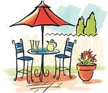 Patio,Umbrella,Parasol,Lemonade,Formal Garden,Mediterranean Countries,Summer,Vacations,Sun,Domestic Life,Refreshment,Watercolor Painting,Sunlight,Casual Clothing,Drinks,Healthy Lifestyle,Arts And Entertainment,Food And Drink,Cool,Hot Summer,Concepts And Ideas