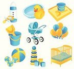 Toy,Sandbox,Crib,Symbol,Child,Cot,Group of Objects,Duck,Bucket,Bed,Baby Carriage,Vector,Ilustration,Personal Accessory,Bin/tub,Sand,Bib,Set,Shovel,perambulator,Isolated,Udder,Yellow,Sand Trap,Colors,feeding-bottle,Balloon,soother,Cube Shape,Cushion,Illustrations And Vector Art,Pillow,Childishness,Baby Bottle,Objects/Equipment,Vector Icons,Sphere