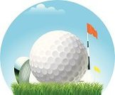 Golf,Wind,Golf Ball,Ball,Stick - Plant Part,Summer,Flag,Sky,Grass,Sphere,Sport,Focus On Foreground,Sports And Fitness,Outdoors,Golf,Objects/Equipment,Household Objects/Equipment,Illustrations And Vector Art,Cloud - Sky,Day,Plant