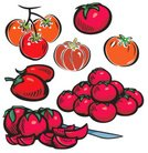 Tomato,Vegetable,Computer Icon,Vector,Food,Symbol,Icon Set,Ilustration,Clip Art,Freshness,Nature,Healthy Lifestyle,Food And Drink,Illustrations And Vector Art,Cooking,Set,Red,Vegetarian Food,Gourmet,Refreshment,Kitchen Knife