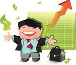 Currency,Finance,Wealth,Happiness,Businessman,Cheerful,Business,Business Person,Growth,Stock Market,Graph,Occupation,Presentation,Success,Expertise,Chart,Working,Confidence,Financial Occupation,Perks,The Human Body,Men,Smiling,People,Arrow Symbol,Luck,Making Money,Ilustration,Vector,White Collar Worker,Wages,Winning,Dollar Sign,Buying,Cute,Investment,Progress Chart,Banking,Lottery,Characters,Caucasian Ethnicity,Paper Currency,Loan,Bank,Coin,Improvement,Charity and Relief Work,earnings,Male,Cartoon,Joy,Clip Art,One Person,Achievement,Looking,Moving Up,Retirement