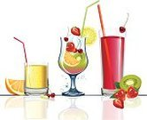 Cocktail,Drink,Fruit,Drinking,Juice,Summer,Dessert,Glass,Glass - Material,Vector,Juicy,Healthy Eating,Group of Objects,Orange - Fruit,Non-alcoholic Beverage,Drop,Ilustration,Food,Lemon,Strawberry,Freshness,Cherry,Highball Glass,Color Image,Ripe,Lime,Isolated,Citrus Fruit,Drinks,Design Element,Refreshment,Tropical Fruit,Grass,Grape,Yellow,Leaf,Food And Drink,Liquid,Red,Illustrations And Vector Art,Vitamin Pill,Bubble