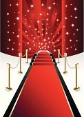 Catwalk,Red Carpet,Event,Entrance,Film Industry,Celebration,Railing,Traditional Festival,Rug,Vector Backgrounds,Objects/Equipment,Boundary,Illustrations And Vector Art