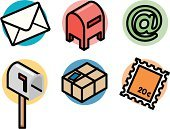 Mailbox,Envelope,Mailbox,Package,Box - Container,Mail,Postage Stamp,Symbol,Letter,E-Mail,Computer Icon,'at' Symbol,Delivering,Group of Objects,Global Communications,Ilustration,Communication,Text,Writing,Vector,Freight Transportation,Communication,Concepts And Ideas,Single Object,Arts And Entertainment,Objects/Equipment