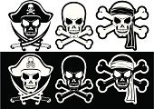 Human Skull,Pirate,Skull and Crossbones,Cross Shape,Human Bone,Tattoo,Pirate Flag,Sword,Silhouette,Vector,Knife,buccaneer,Bandana,Outline,Ilustration,Halloween,Bicorne,Dagger,Saber,Weapon,Cocked Hat,Black And White,Holidays And Celebrations,Halloween,Corsairs