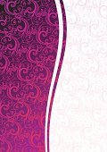 Purple,Swirl,Wallpaper Pattern,Backgrounds,Glamour,Pattern,Pink Color,Abstract,Old-fashioned,Antique,Ornate,White,Floral Pattern,Curve,Art Product,Clip Art,Vertical,Ilustration,Computer Graphic,Color Image,Decoration,Vector Florals,Growth,Vector Ornaments,Beauty,Illustrations And Vector Art,Copy Space,Vector Backgrounds,Vector,Shape,Design Element,Curled Up