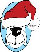 Christmas,Santa Hat,Dog,Hat,Cartoon,Hound,Pets,Holidays And Celebrations,Dogs,Christmas,Illustrations And Vector Art,Vector,Celebration,Ilustration,carved letters,Animals And Pets