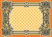 Celtic Culture,Certificate,Baroque Style,Deco,Pattern,Design,Backgrounds,Curled Up,Scroll Shape,filigree,Victorian Style,Swirl,Clip Art,Angle,Placard,Old-fashioned,Banner,Floral Pattern,Retro Revival,Yellow,Vector,Luxury,Curve,Vignette,flourishes,Vector Ornaments,Illustrations And Vector Art,Obsolete,Ornate,Copy Space,Engraved Image,Abstract,Vector Backgrounds,Vector Cartoons,Old,Spiral,Decoration,Classical Style,Elegance,Sepia Toned