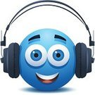 Man Made Object,Bizarre,Technology,Smiling,Listening,Blue,Modern,Headphones,Music,Cut Out,Cute,Noise,Illustration,Mascot,Sound,No People,Vector,Audio Equipment,MP3 Player,Characters,Facial Expression,Audio Electronics,White Background,Arts Culture and Entertainment,Illustrations And Vector Art