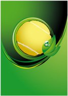 Tennis,Ball,Backgrounds,Tennis Ball,Nature,Sphere,Vector,Green Color,Sports And Fitness,Sports Backgrounds,Illustrations And Vector Art,Drop,Ilustration,Leaf,No People