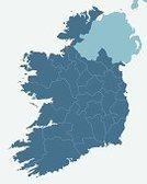 Republic of Ireland,Map,Vector,Ilustration,Vector Backgrounds,Vector Icons,Travel Backgrounds,regions,Illustrations And Vector Art,Travel Locations