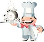 Chef,Cooking,Clock,Cartoon,Food,Time,Urgency,Planning,Ilustration,People,Serving,Smiling,Ideas,Recipe,Concepts,Deadline,Reminder,Ringing,Food Service Occupation,Toque,Showing,Human Face,Checking the Time,Clock Face,Metal,Personal Organizer,Symbol,eatery,Uniform,Food And Drink Industry,1940-1980 Retro-Styled Imagery,Meeting,Presentation,Dialing,Morning,Second Hand,Characters,Sound,Cheerful,Minute Hand,One Person,Men,Bell,Accuracy,Period,Tray,Hat,One Man Only,Sign,Restaurant,Mustache,Countdown,Alarm Clock,Cooked,Happiness,Circle,Standing,Vector,Instrument of Time