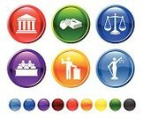 Law,Symbol,Legal System,Courthouse,Computer Icon,Justice - Concept,Equal-arm Balance,Icon Set,Courtroom,Judgement,Juror - Law,Interface Icons,Oath,Circle,Blue,Trial,Vector,Bible,Human Hand,Ilustration,Red,Facade,Yellow,Orange Color,Digitally Generated Image,Colonnade,Green Color,Black Color,No People,Modern,Bench,Design,Isolated On White,Sword,Empty,Round Button,White Background,Sparse