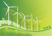 Wind Turbine,Wind,Turbine,Global Warming,Environmental Conservation,Sun,Alternative Energy,Wind Power,Environment,Solar Energy,Technology,Tree,Propeller,Landscape,Grass,Wave Pattern,Nature,Fuel and Power Generation,Electricity,Technology,Industry,Objects/Equipment,Industrial Objects/Equipment