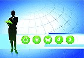 Business,Green Color,Recycling,Occupation,Leaf,Environmental Conservation,Silhouette,Environment,Symbol,Women,Manager,Nature,Recycling Symbol,Presentation,Female,Working,Job - Religious Figure,Water,Vector,Businesswoman,Interface Icons,Drop,Digitally Generated Image,Ilustration,Plant,Blue,Curve,Brightly Lit,Concepts,Business,Rain,Vibrant Color,Wave,Speech,Vitality,Ideas,Butterfly - Insect,Sun,Circle,Flower,Illustrations And Vector Art,Inspiration,Back Lit,Bright,Concepts And Ideas