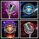 Radio,Singing,Microphone,Headphones,Music,Vector,Design,Nightclub,Backgrounds,Pattern,Voice,Single Voice,Disco,Skill,Blob,Creativity,Red,Disco Dancing,Sound,Art,Blue,Vacations,Illustrations And Vector Art,Holiday,Brilliant,Vector Cartoons,Vector Backgrounds