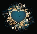 Heart Shape,Ornate,Modern,Glamour,Scroll Shape,Ideas,Dark,Paintings,Elegance,Symbol,Abstract,Design,Computer Graphic,Art,Grunge,Backgrounds,Style,Curled Up,Arts Abstract,Decoration,Arts And Entertainment,Image,Pattern,Love,Curve,Floral Pattern,Shape,Fashion,Composition,Flower,Vector Backgrounds,Funky,Vector,Illustrations And Vector Art,Arts Backgrounds,Design Element,Ilustration,Painted Image,Swirl
