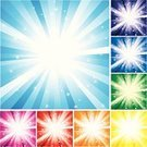 Star - Space,Backgrounds,Exploding,Star Shape,Blue,Bright,Multi Colored,Yellow,Purple,Red,Space,Vector,White,Vitality,Backdrop,Ilustration,Vibrant Color,Design,Orange Color,Green Color,Brightly Lit,Vector Backgrounds,Illustrations And Vector Art,Creativity