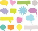 Speech Bubble,Thought Bubble,Shape,Spray,Heart Shape,Frame,Abstract,Symbol,Discussion,Colors,Yellow,Backgrounds,Cartoon,Set,Purple,Star Shape,Pink Color,Orange Color,Cloudscape,Group of Objects,Blue,Copy Space,Communication,Computer Graphic,Design,Pencil Drawing,Red,Circle,Illustrations And Vector Art,Vibrant Color,Blank,Ilustration,Clip Art,Vector,Concepts And Ideas,Message,Design Element,Communication