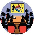 Meeting,Conference Call,Women,Business,Group Of People,Symbol,Brainstorming,Religious Icon,Presentation,Lecture Hall,People,Computer Icon,Studying,Recruitment,Working,Human Resources,Office Interior,Table,Education,Chart,Occupation,Ilustration,Choice,Number 6,Vector,Employment Issues,Men,Awards Ceremony,Business,People,handcarves,Job - Religious Figure,Writing,Businessman,Chair
