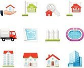 Symbol,Real Estate,Computer Icon,Built Structure,Icon Set,House,Apartment,Mansion,Office Building,Swimming Pool,Building Exterior,Loan,Residential Structure,Moving House,Key,Human Hand,Skyscraper,For Sale,Truck,Hands Cupped,Giving,Plan,Cabin,Fence,House Key,For Rent Sign,Group of Objects,Isolated On White