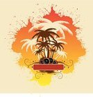 Travel,Abstract,Backgrounds,Beach,Relaxation,Tree,Tropical Climate,Palm Tree,Weekend Activities,Swirl,Sun,Multi Colored,Yellow,Coastline,Seascape,Vector,Summer,Travel Locations,Holidays,Travel Backgrounds,Vector Backgrounds,Illustrations And Vector Art,Flower,Ilustration,Ornate,Orange Color,Brown,Sea