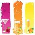 Martini,Cocktail,Hibiscus,Banner,Spray,Pink Color,Champagne,Juice,Vector,Beauty,Wine,Food,Rose - Flower,Ilustration,Flower,Olive,Drop,Drink,Yellow,Set,Leaf,Pattern,Frangipani,Flowers,Green Color,Food And Drink,Drinks,Refreshment,Orange Color,Illustrations And Vector Art,Alcohol,Grunge,Vector Backgrounds,Nature
