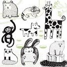 Pattern,Bear,Animal,Alphabet,Dog,Doodle,Domestic Cat,Undomesticated Cat,Monkey,Tropical Rainforest,Rabbit - Animal,Cartoon,Polar Bear,Drawing - Art Product,Characters,Iguana,Africa,Animal Themes,Vine,Line Art,Giraffe,Design,Hole,Vector,Water,Ilustration,Ice,Lizard,Pocket,Animals In The Wild,Set,Grass,Savannah,Wildlife,Fur,Variation,North Pole,Reptile,Chinese Zodiac Sign,Branch,Chameleon,Rabbit Hole,Antarctica,Year Of The Rabbit,hand drawn