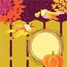 Autumn,Harvesting,Crop,Thanksgiving,Leaf,Vector,Family,Tree,Retro Revival,Bird,Pumpkin,Greeting Card,Invitation,Silhouette,Love,Decoration,Holiday,Nature,Fence,Cherry,Care,Greeting,Ilustration,Summer,Gift,Pear,Flying,Copy Space,Star Shape