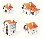 House,Symbol,Three-dimensional Shape,Apartment,Computer Icon,Residential Structure,Mansion,Cartoon,Candid,Family,Garage,Residential District,Vector,Flooring,Door,Roof,Internet,Isolated,Ilustration,Red,Balcony,Set,Window,Chimney,Architecture,Clip Art,White,Shadow,Gray