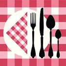 Restaurant,Menu,Silverware,Domestic Kitchen,Table,Food,Tablecloth,Fork,Greeting Card,Cafe,Silhouette,Checked,Spoon,Eating,Lunch,Backgrounds,Cooking,dinning,Crockery,Design,Service,Party - Social Event,Breakfast,Vector,Concepts,Ilustration,Table Knife,Gourmet,Meal,Eating,Food Backgrounds,Food And Drink,Arranging,Illustrations And Vector Art
