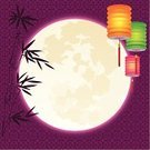 Moon,Lantern,Mid-Autumn,Chinese Ethnicity,Chinese New Year,Pattern,Asian Ethnicity,Moon Surface,Chinese Culture,Backgrounds,Full Moon,Decor,Abstract,Modern,Bamboo Leaf,Decoration,Vector,Arts Backgrounds,Holidays And Celebrations,Copy Space,Arts And Entertainment,chinese traditional,Purple,Holiday Backgrounds,Ilustration,Illustrations And Vector Art