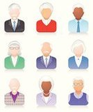 Symbol,Senior Adult,People,Computer Icon,Icon Set,Old,Men,Avatar,Human Face,user,Set,Women,One Person,Vector,Male,Female,Color Image,Isolated-Background Objects,People,Vector Icons,Isolated,Isolated On White,Illustrations And Vector Art,Isolated Objects