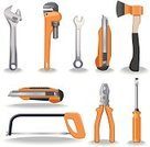 Work Tool,Repairing,Carpenter,Wrench,Equipment,Spanner,Screwdriver,Vector,Axe,Lug Wrench,Construction Industry,Blade,Metal,Household Objects/Equipment,Industry,Madera,Vector Icons,Construction,Sierra,Illustrations And Vector Art,Objects/Equipment